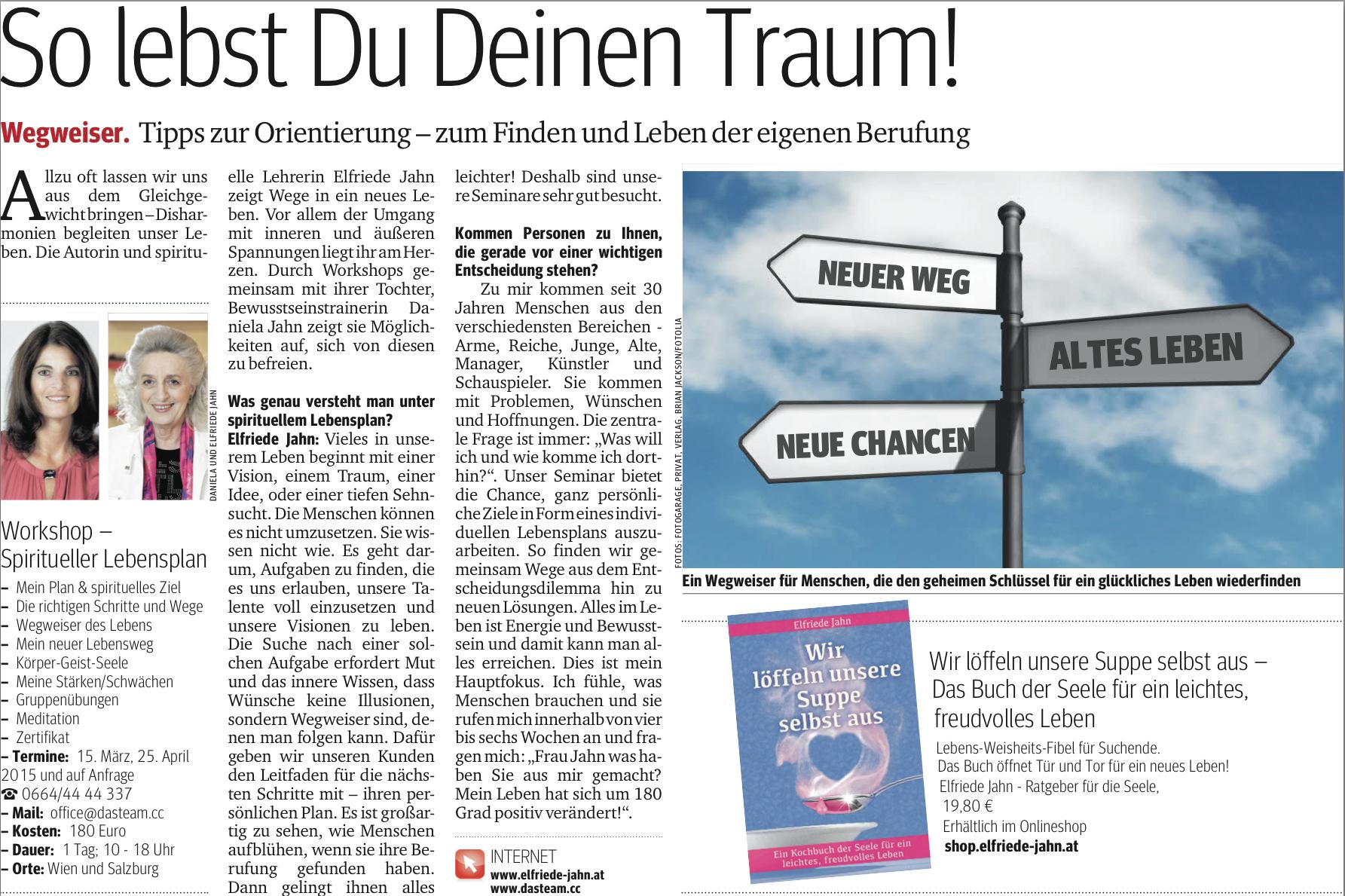 Elfriede Jahn Medium Kartenlegen Spirituelle Lehrerin Wien