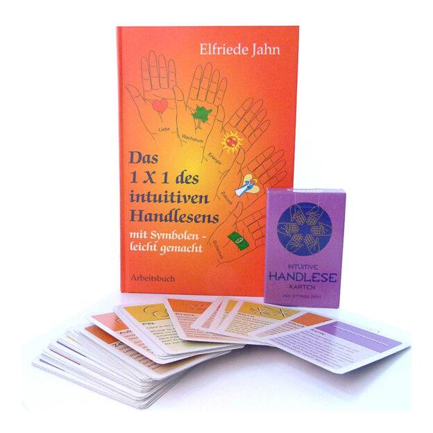 Das 1×1 des intuitiven Handlesens + Handlesekarten