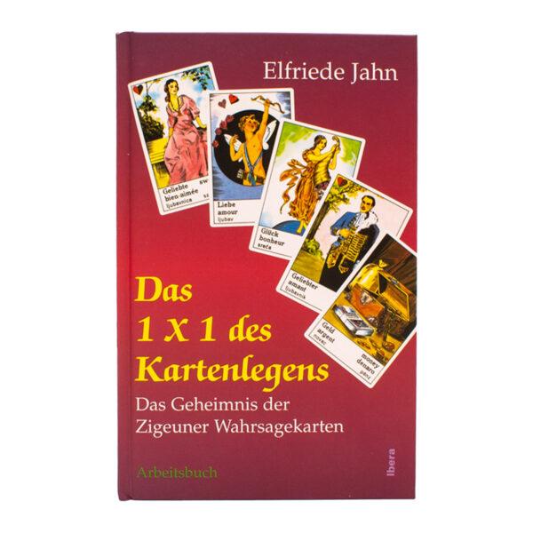 Elfriede Jahn Das 1x1 des Kartenlegens Buch Cover