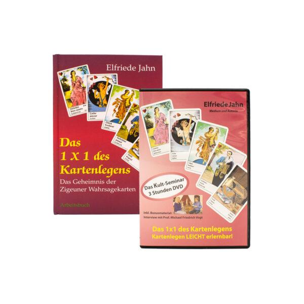 DVD und Buch Cover Das 1x1 des Kartenlegens von Elfriede Jahn