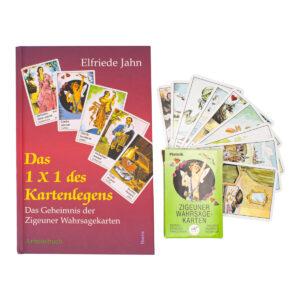 Elfriede Jahn Das 1x1 des Kartenlegens Buch und Karten Set