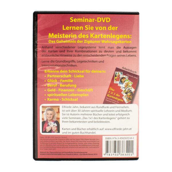 Elfriede Jahn Das 1x1 des Kartenlegens DVD Back