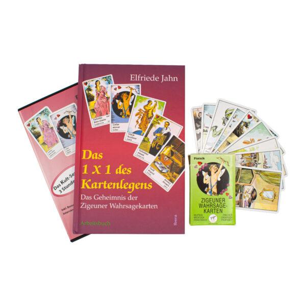Elfriede Jahn Das 1x1 des Kartenlegens DVD Buch und Karten Set