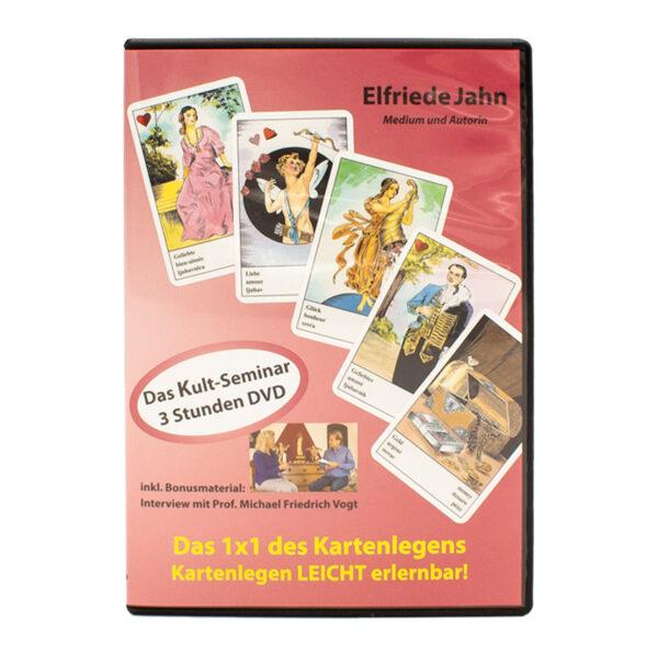Elfriede Jahn Das 1x1 des Kartenlegens DVD Cover