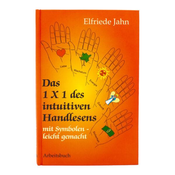 Elfriede Jahn Das 1x1 des intuitiven Handlesens Buch Cover