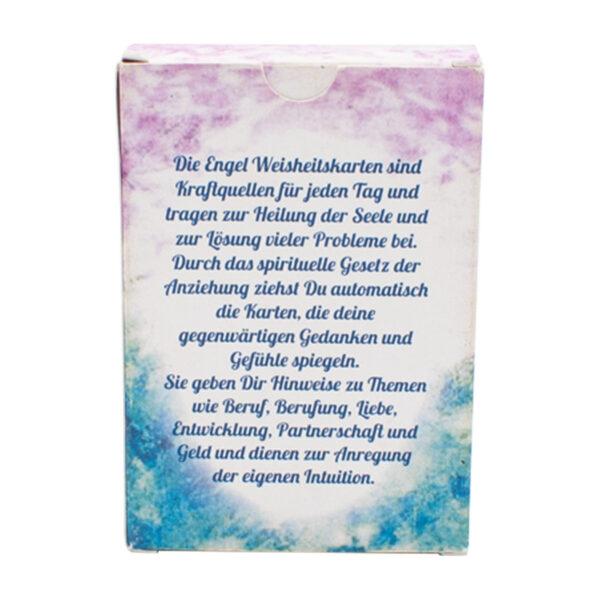 Elfriede Jahrn Engel Weisheitskarten Back