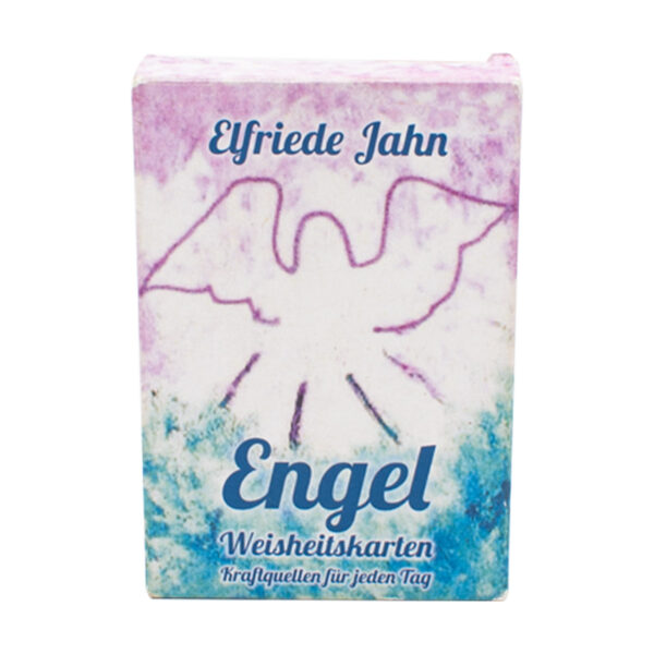 Elfriede Jahn Engel Weisheitskarten Cover